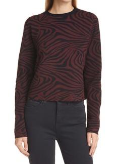Ted Baker London Zebra Jacquard Sweater