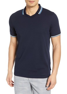 Ted Baker London Zebraz Slim Fit V-Neck Polo