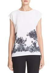 Ted Baker London 'Zera - Woodland Toile' Border Print Tee