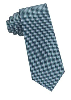 Ted Baker London Zigzag Neat Silk Tie