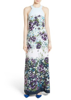 Ted Baker London Ziloh Floral Print Maxi Dress