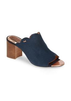 Ted Baker London Zinia Scalloped Slide Sandal (Women)