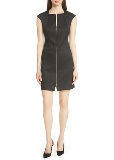 Ted Baker London Zip Front A-Line Dress