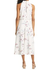 Ted Baker London Zoeeey Floral Halter Neck Midi Dress