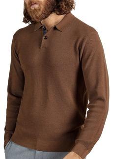 Ted Baker Long Sleeve Knit Polo