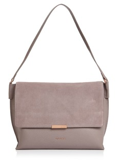 Ted Baker Louissa Leather & Suede Shoulder Bag