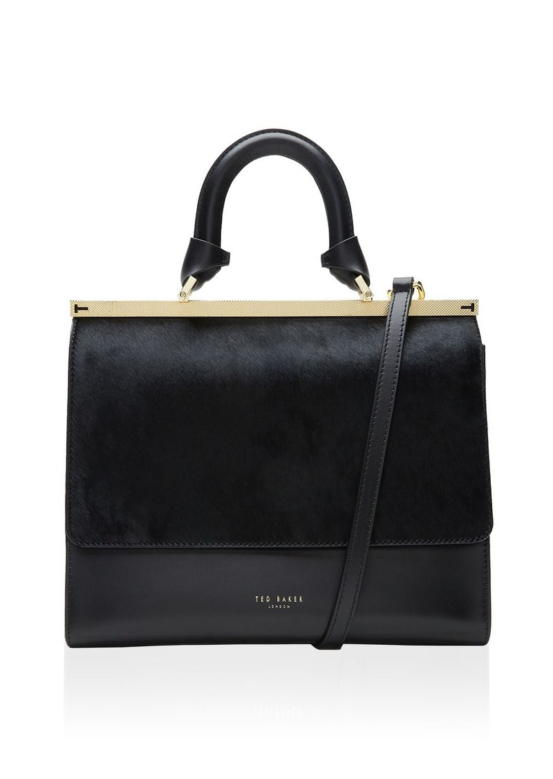 Ted Baker Luci Top Handle Leather Satchel