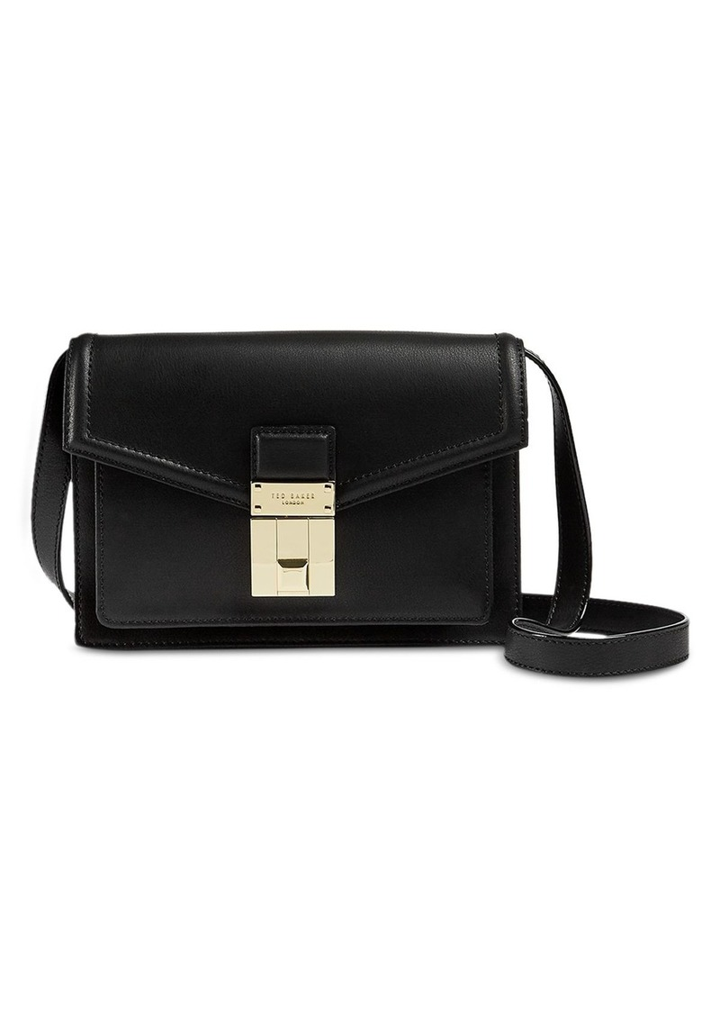 Ted Baker Luggage Lock Mini Leather Convertible Satchel