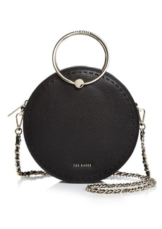Ted Baker Maddie Stitch Leather Circle Crossbody