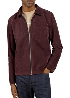 Ted Baker Made in Britain Suede Overshirt