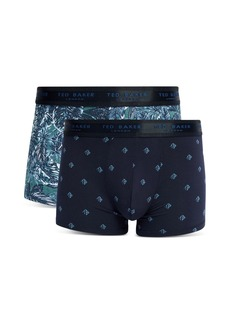 Ted Baker Mallad Palm Boxer Briefs, Pack of 2