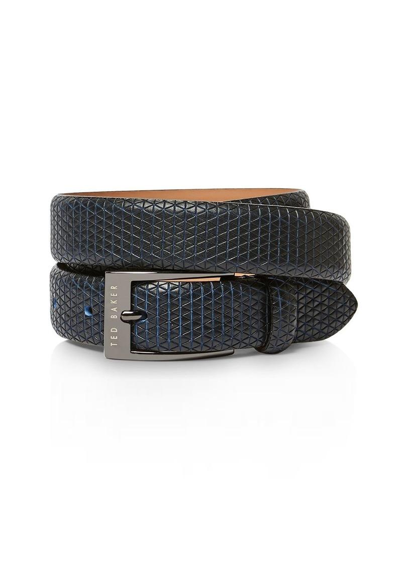 Ted Baker Manila Textured Leather Belt