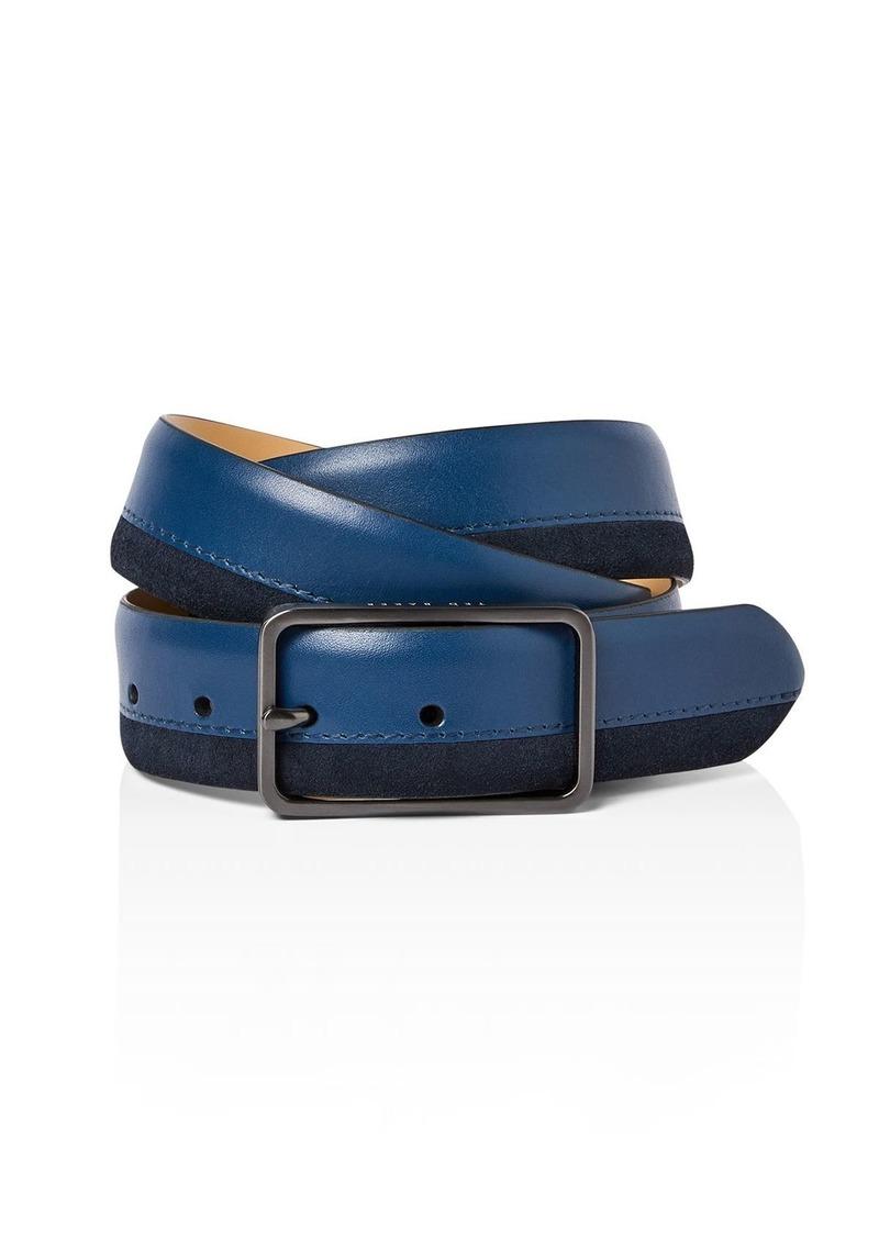 Ted Baker Mattel Men's Suede & Leather Belt