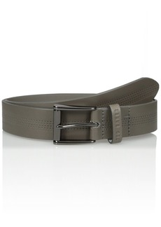 Ted Baker Men's Brambel Centre Texture Belt Grey