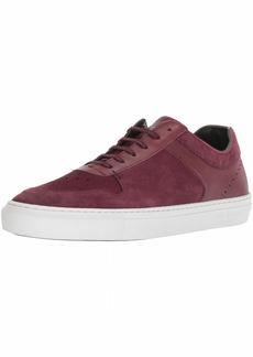 Ted Baker Men's BURALL Sneaker Dark red Suede 11.5 Medium US