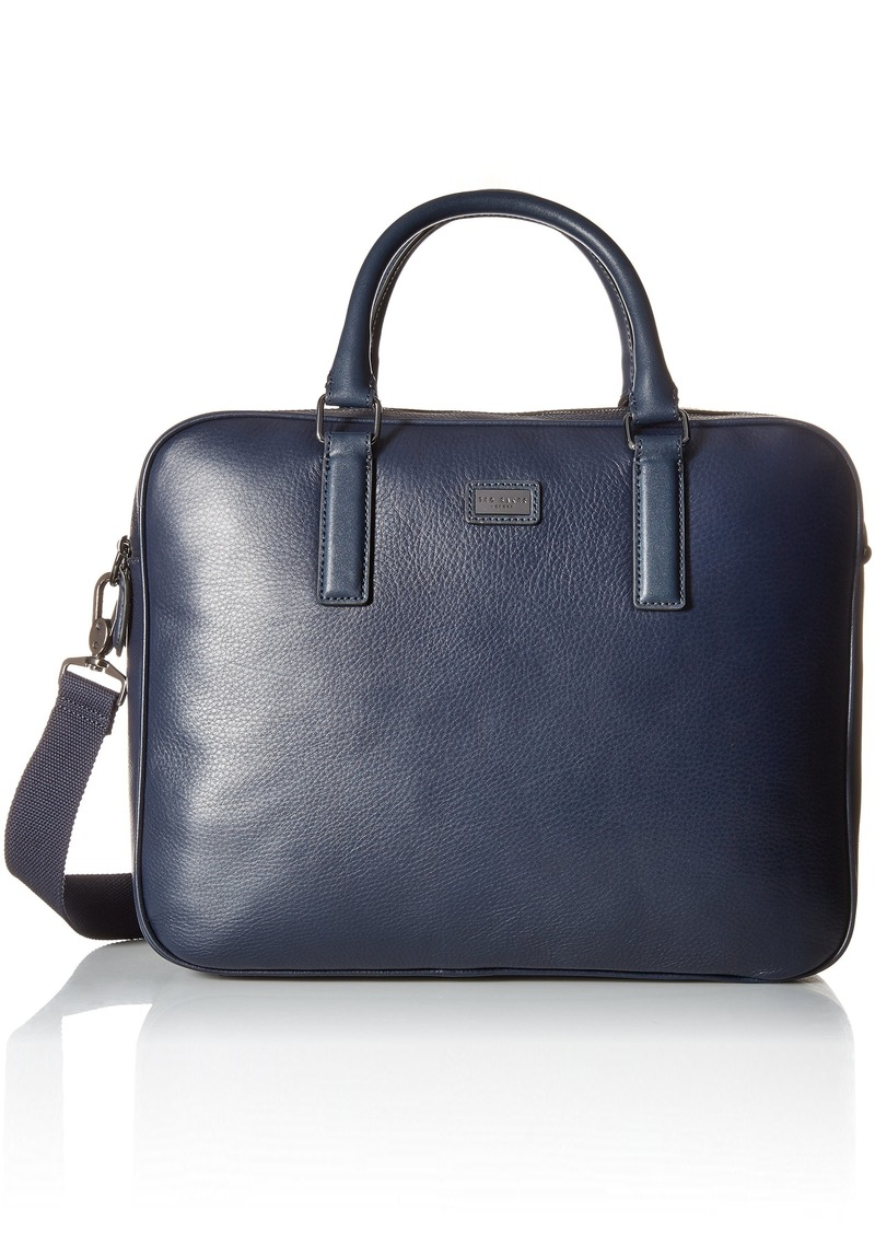 14650c85e9c4 Ted Baker Ted Baker Men s Caracal Leather Document Bag Navy