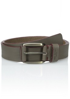 Ted Baker Men's Casual Leather Belt Grey