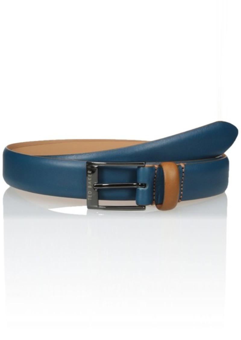 ee5faace243a6 Ted Baker Ted Baker Men s Centre Block Colour Leather Belt