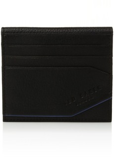 Ted Baker Men's Coloured Leather Small Wallet black