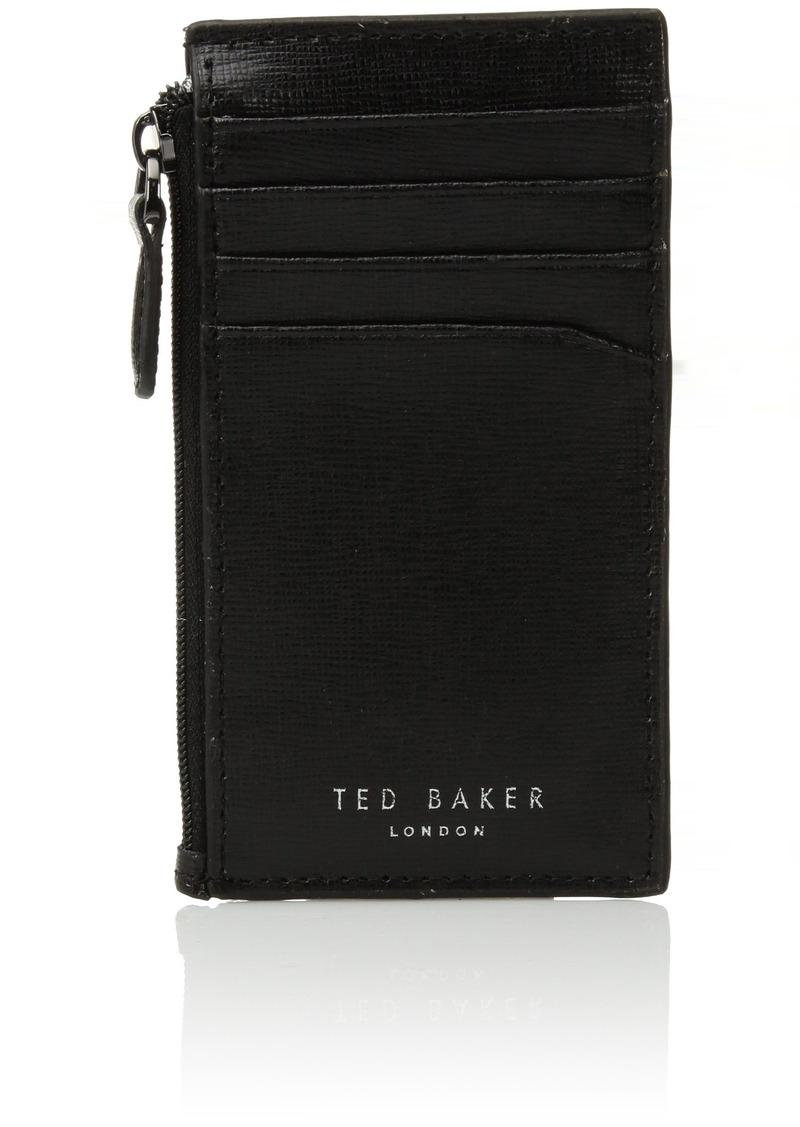 c2e370d82 Ted Baker Ted Baker Men s Corner Detail Zip Card Holder black