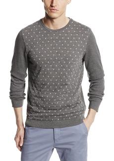 Ted Baker Men's Dedwood Long Sleeve Diamond Jacquard Crew Neck Sweatshirt  Medium/3