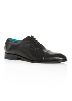Ted Baker Men's Fually Leather Cap-Toe Oxfords