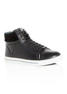 Ted Baker Men's Glyburt Leather High-Top Sneakers - 100% Exclusive