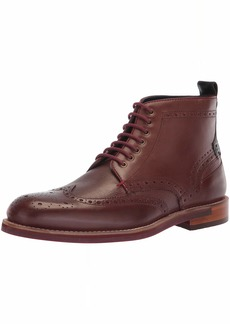 Ted Baker Men's HJENNO Oxford Boot Dark red Leather