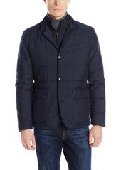 Ted Baker Men's Jasper Quilted Blazer Jacket with Bib