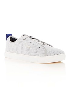 Ted Baker Men's Kaliix Perforated Suede Lace Up Sneakers
