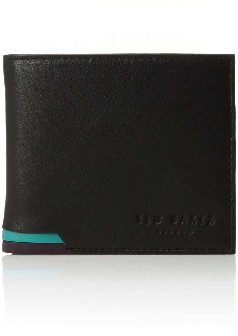 6a7010585702 Ted Baker Ted Baker Men s Leather Bifold Wallet
