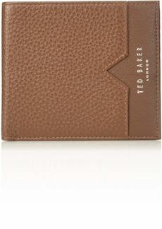 Ted Baker Men's LOOEZE Pebble Leather Wallet tan O/S