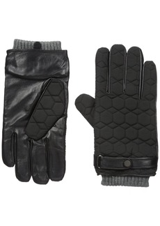 Ted Baker Men's Modcut Quilted Glove black