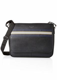 Ted Baker Men's MXB-TABEC-XC9M-webbing Messenger Bag black