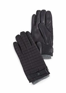 Ted Baker Men's OBLIN Quilted Gloves black L/XL