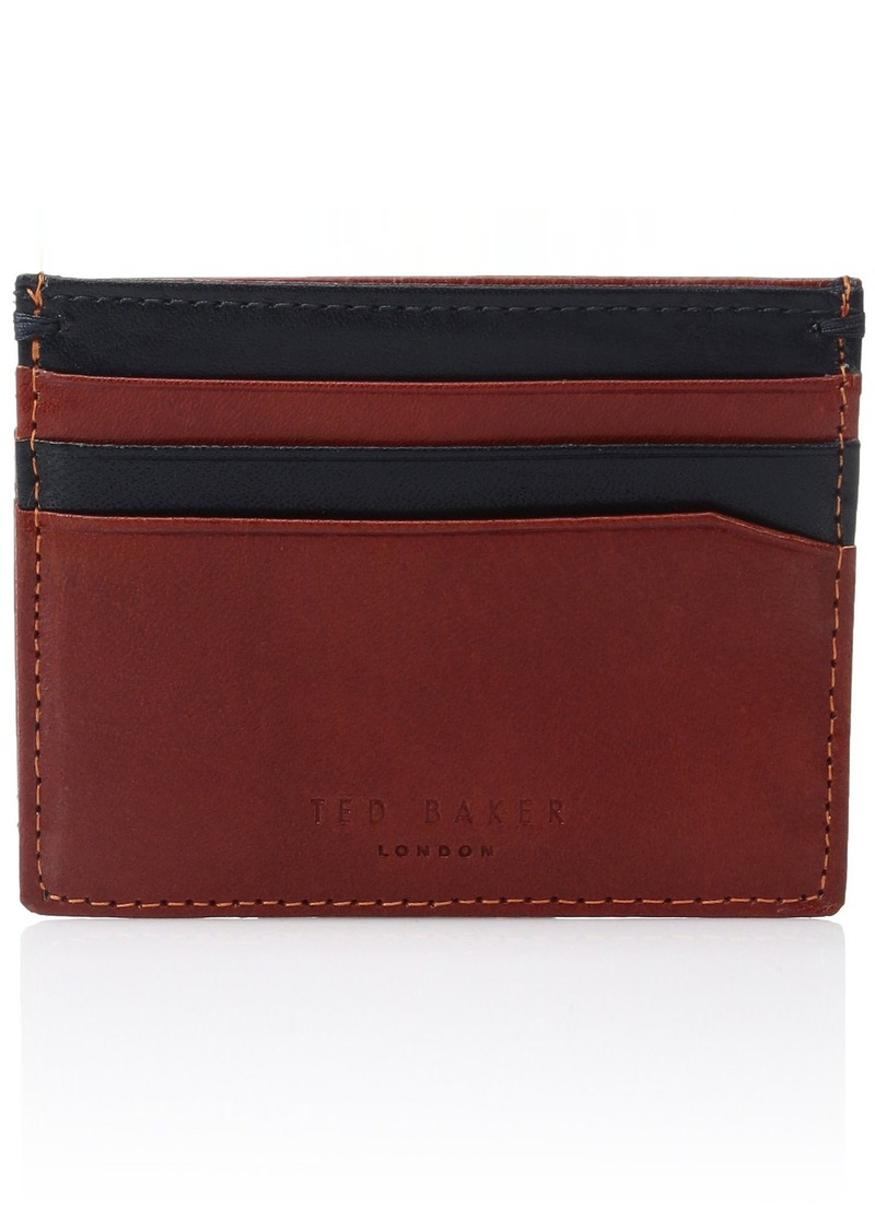 8a9653516 Ted Baker Ted Baker Men s Pincone Contrast Leather Card Holder ...