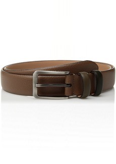 Ted Baker Men's Shrubs Coloured Keeper Leather Belt tan