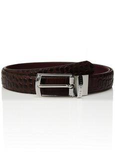 Ted Baker Men's Sunflow Leather Reversible Belt