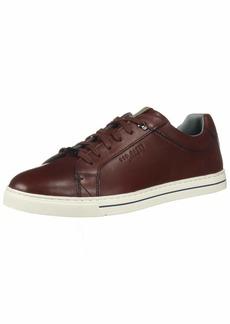 Ted Baker Men's Thawne Sneaker Dark red Leather 13 Medium US
