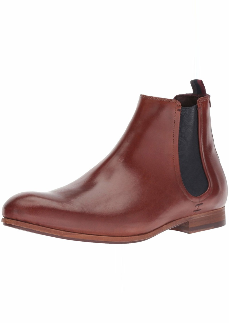 Ted Baker Men's WHRON Chelsea Boot tan Leather  Medium US