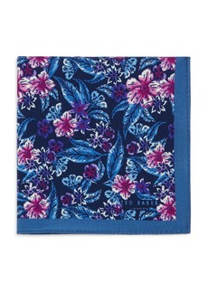 Ted Baker Mixed Flower Pocket Square