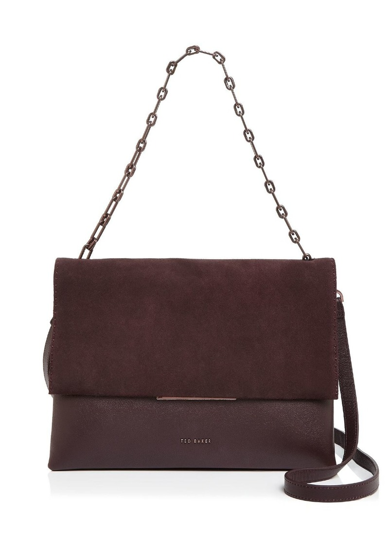 Ted Baker Mixed Media Shoulder Bag