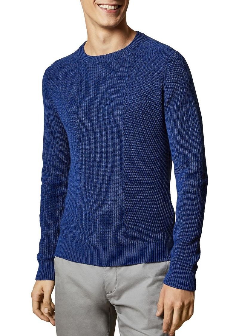 Ted Baker Mixme Ribbed Crewneck Sweater