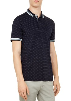 Ted Baker Museo Mini Spot Regular Fit Polo