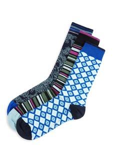 Ted Baker MXG Carpak 3-Pack Sock Set