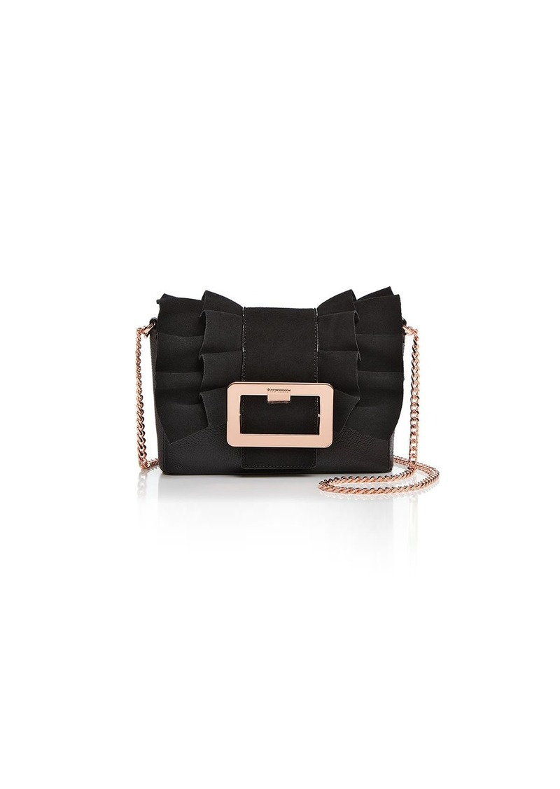 19f7d4ffbc9e74 Ted Baker Ted Baker Nerinee Frill Buckle Clutch