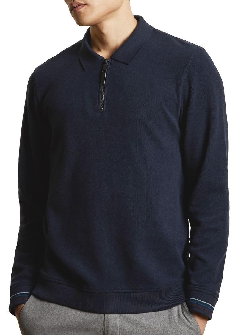 Ted Baker Newcase Long-Sleeve Polo Shirt
