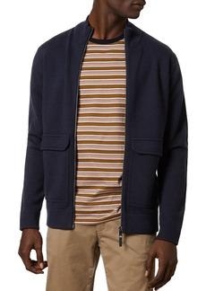 Ted Baker Newrule Funnel Neck Zip Knit Jacket