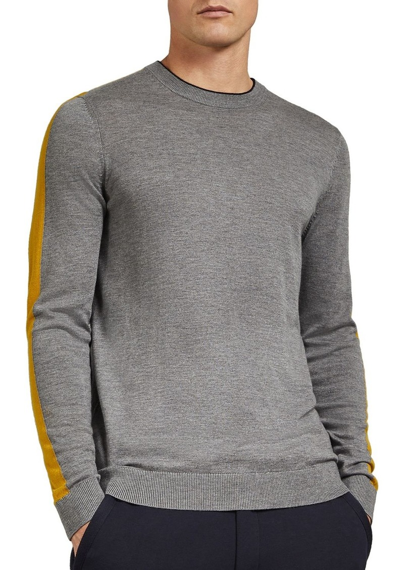 Ted Baker Noirmon Striped Crewneck Sweater