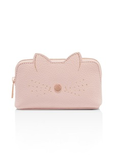 Ted Baker Oohan Cat Whiskers Small Leather Cosmetics Bag